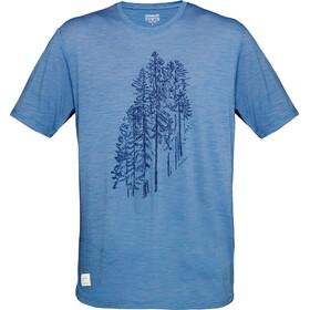 Norrøna Svalbard T-shirt en laine Homme, denimite